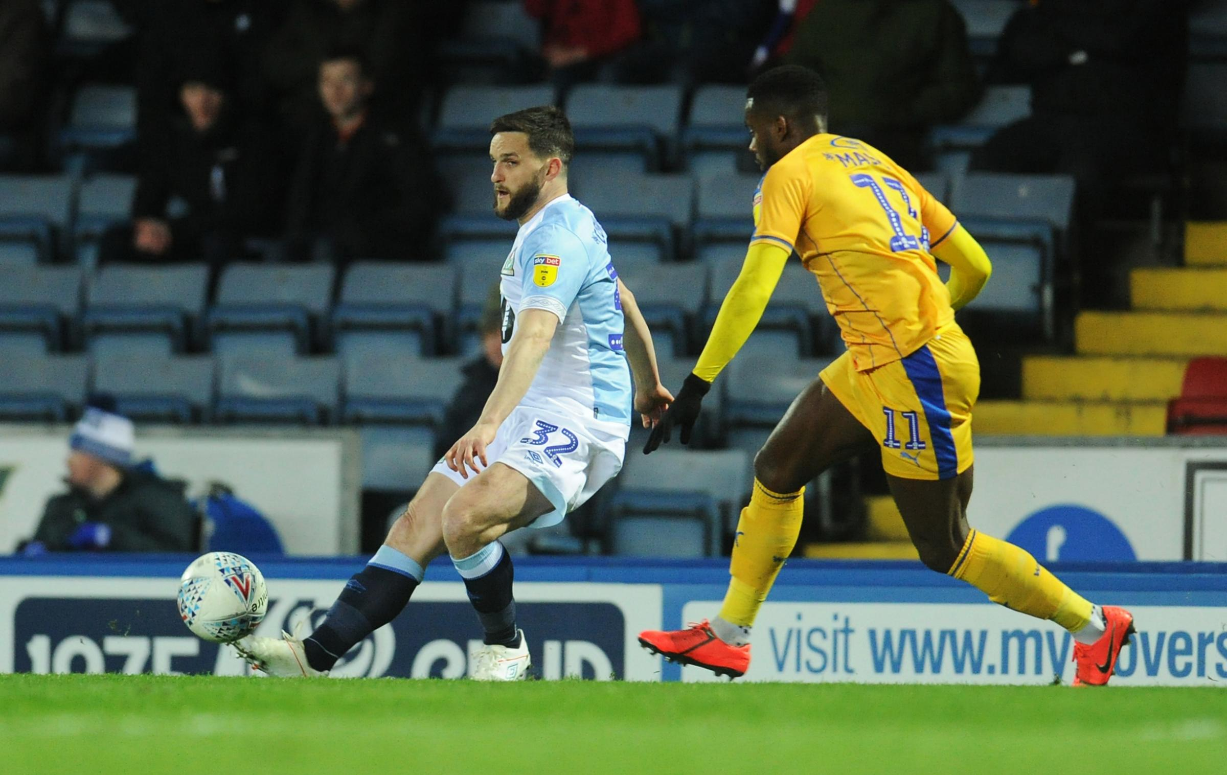 Craig Conway replaced Amari'i Bell early in the first half of Rovers' win over Wigan