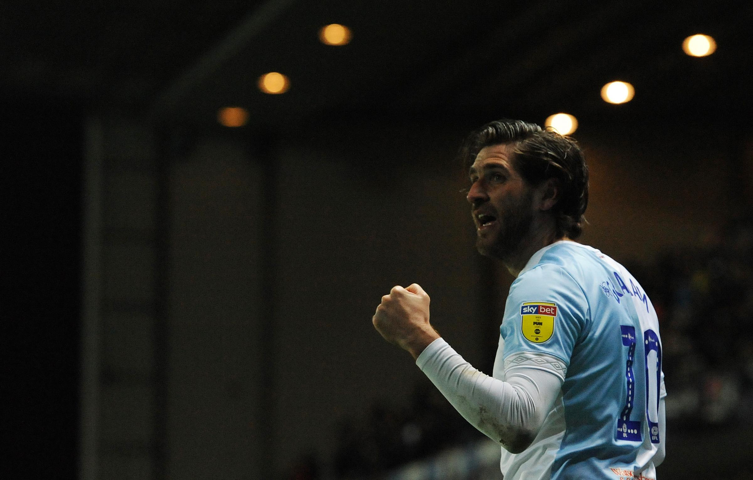 Danny Graham scored twice in Rovers' win over Wigan Athletic