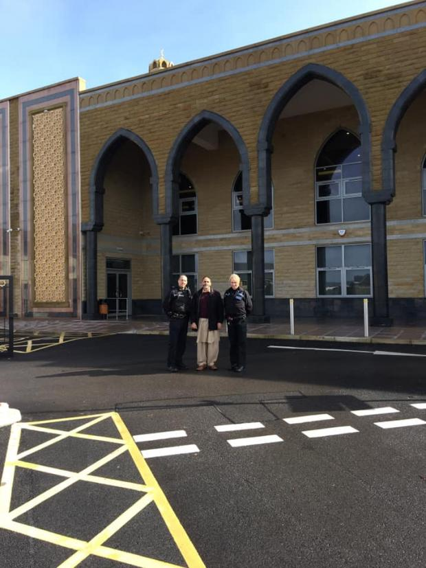Lancashire Telegraph: Visit by police to to Raza Jamia Masjid and community Centre Accrington
