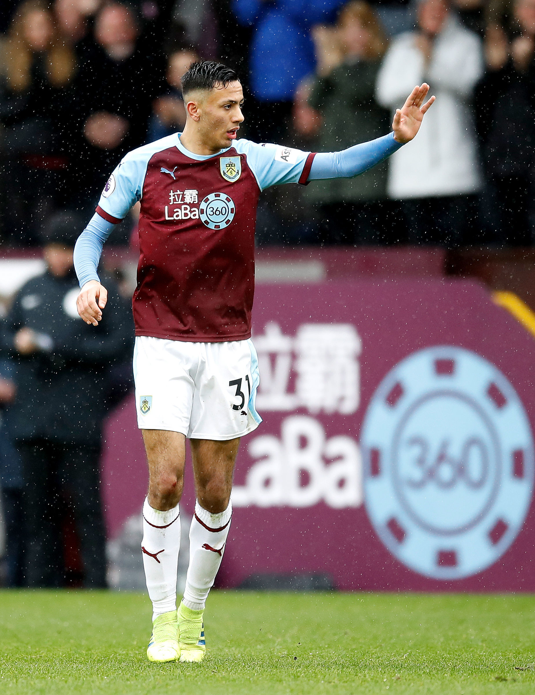 Clarets youngster Dwight McNeil