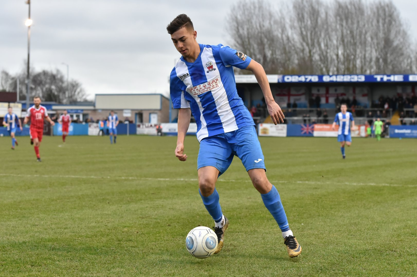 Tyler Allen will train at Rovers this week PIC CREDIT: Simon Kimber Photography