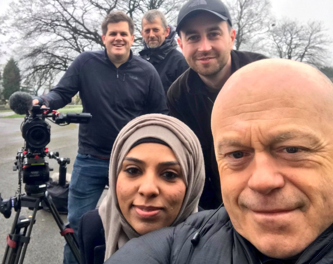 Hardman Ross Kemp is filming new documentary in Blackburn