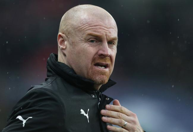 Burnley boss Sean Dyche is pleased to have their destiny in their own hands
