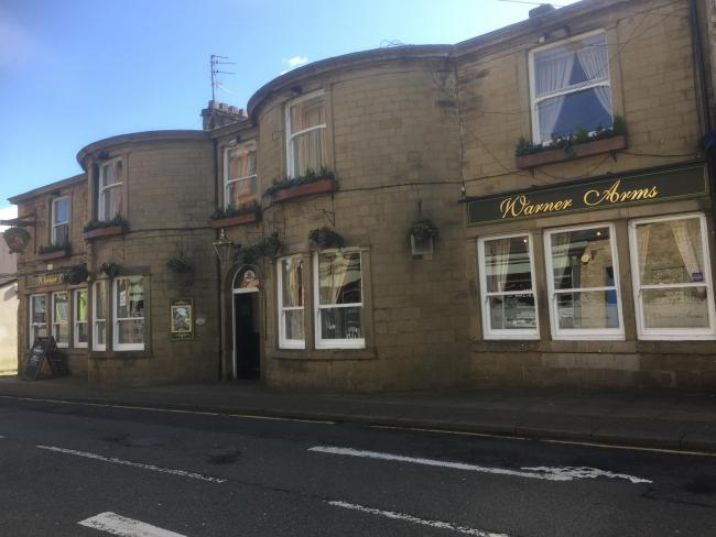 The Warner Arms in Accrington