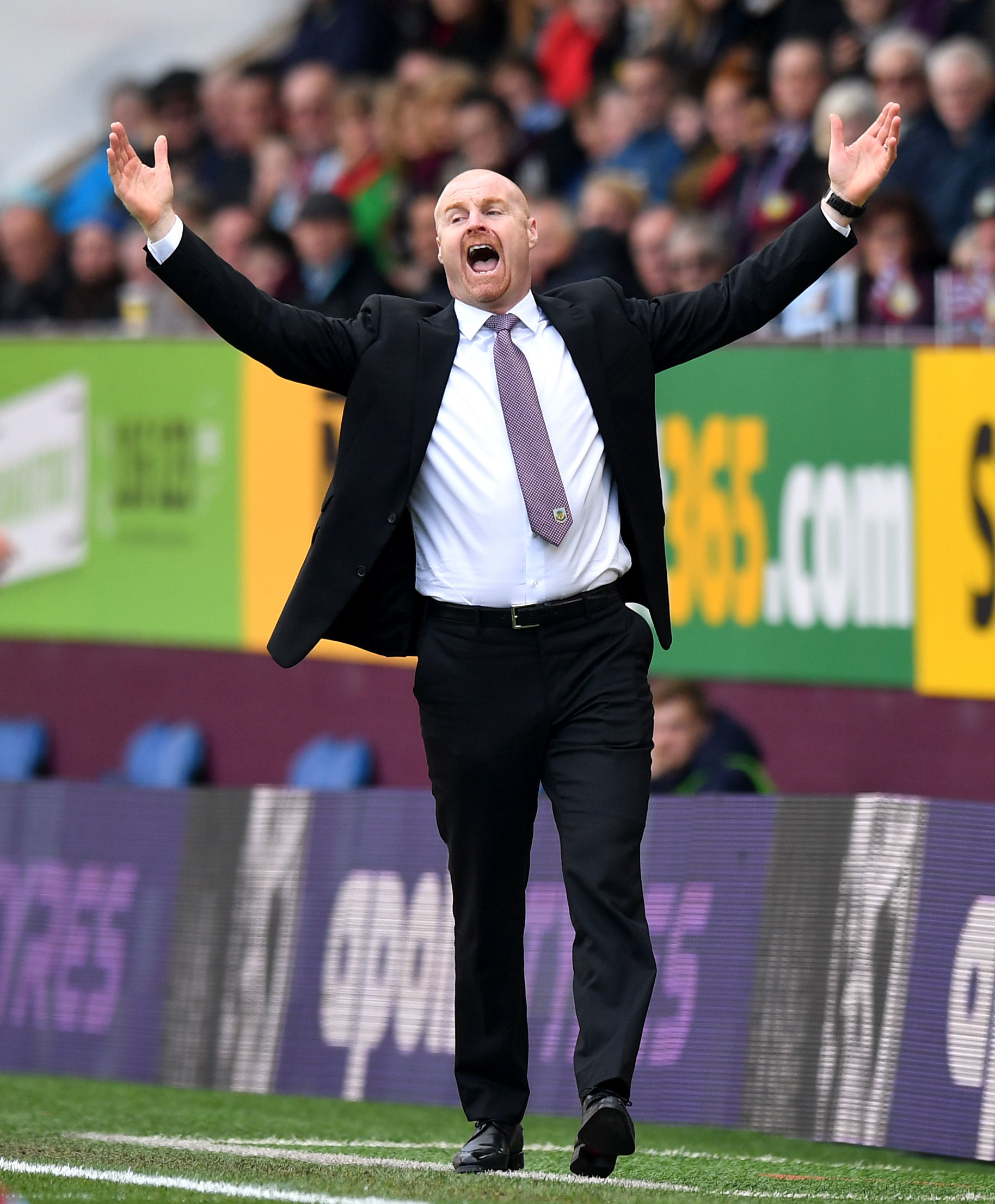 Burnley boss Sean Dyche won his 300th game in charge against Wolves