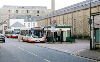 Rawtenstall bus station.