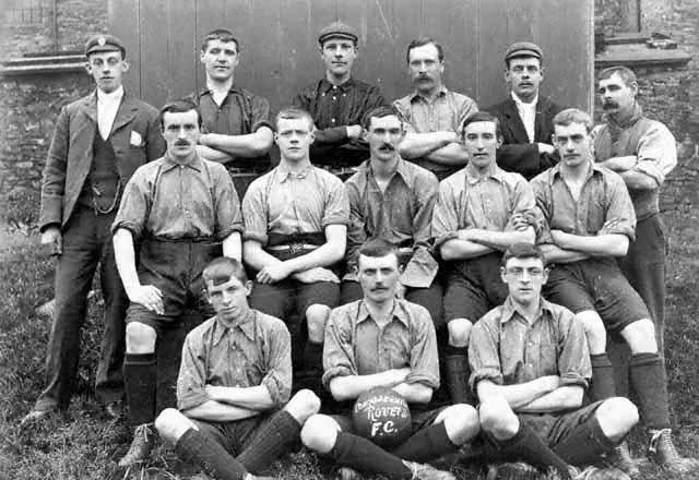 Oswaldtwistle Rovers around 1890