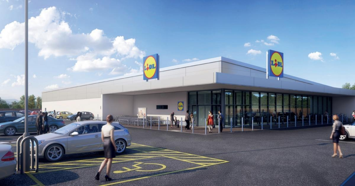 How the new Lidl store in Blackburn could look