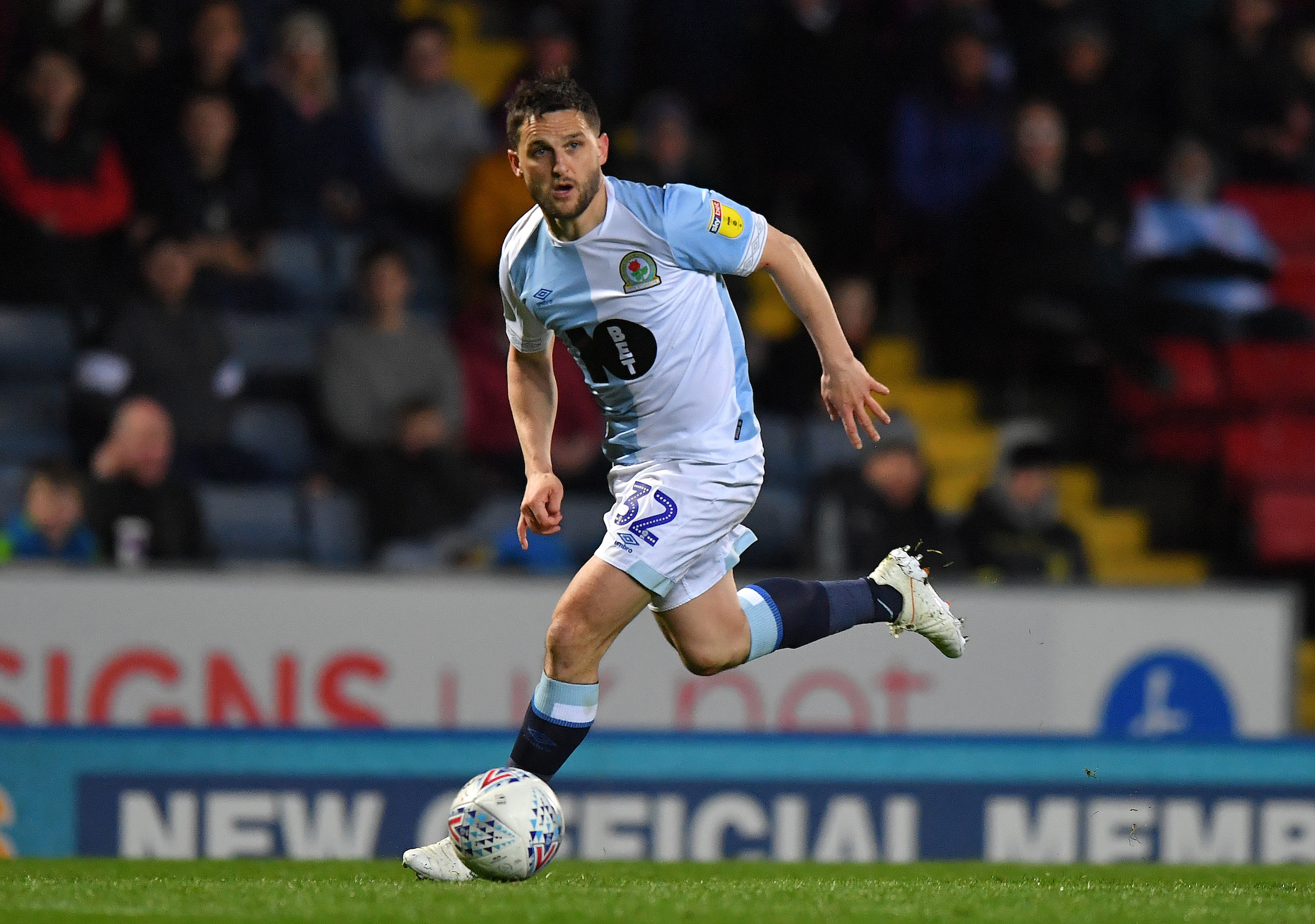 Craig Conway made a rare start in Rovers' win over Derby County