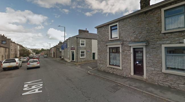 A man had to be freed from a vehicle following a crash in Clitheroe