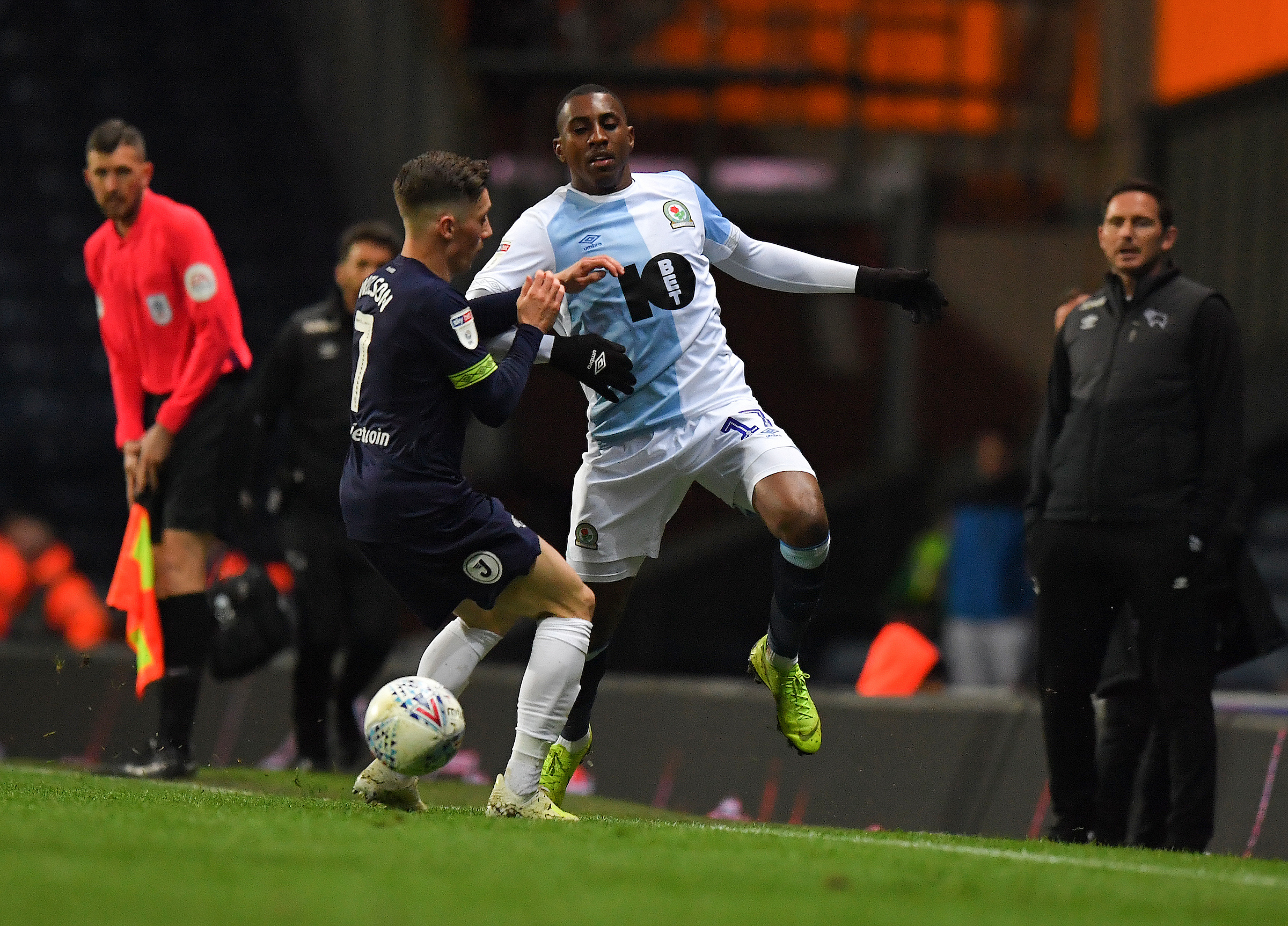 Amari'i Bell has started 30 of Rovers' 41 Championship matches so far this season
