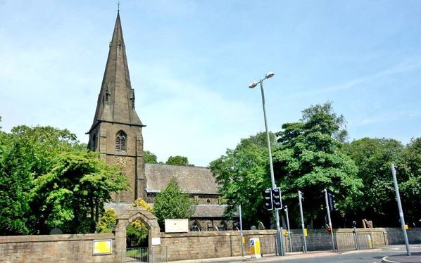 All Saints with St John the Baptist Church in Burnley