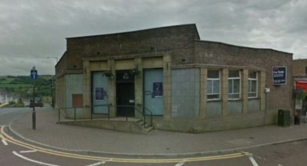 The former Natwest bank in Church Street in Colne.