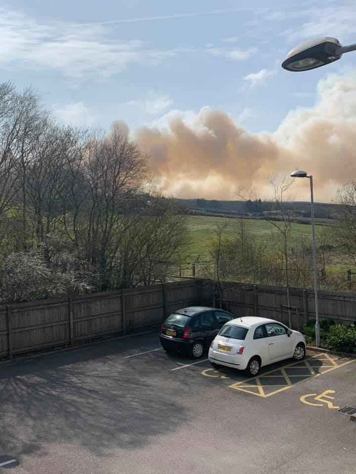 Bacup Wild Fire. Pic credit Nolene O'rourke.