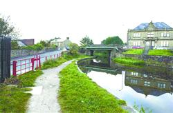 WATER OF LIFE: The arrival of the canal transformed Clayton from a sleepy hamlet into a thriving industrial community