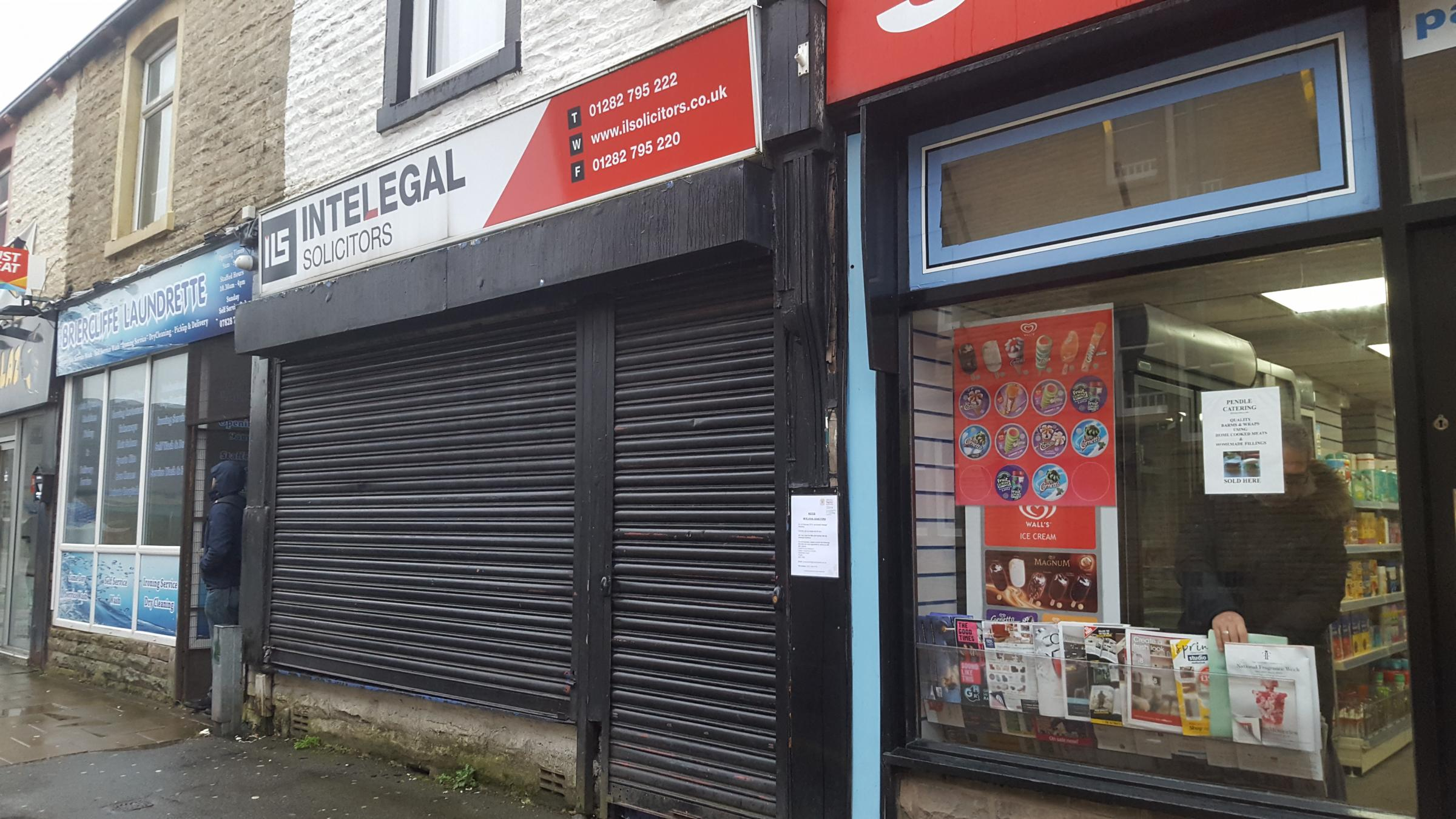 Intelegal, based in Briercliffe Road, Burnley