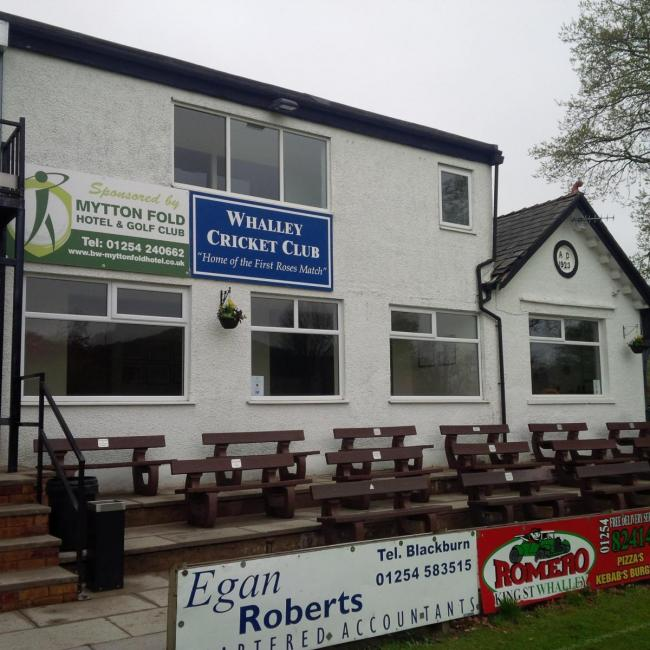 Whalley Cricket Club in Station Road