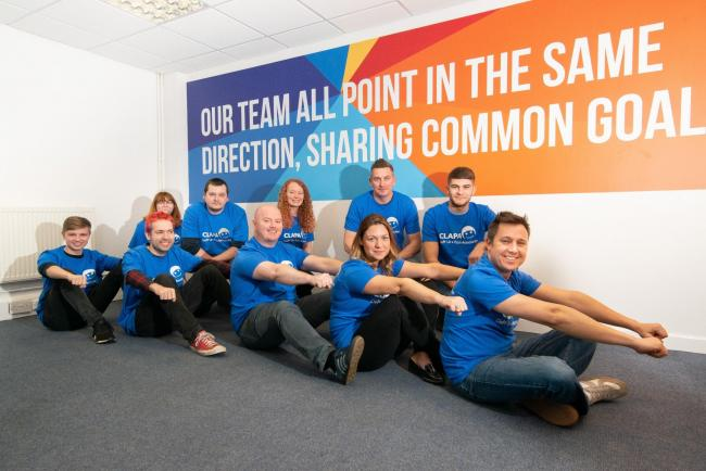Staff at 21 Digital in Blackburn are set to embark on a month-long row-athon for the Cleft Lip and Palate Association . Photography by TVPAV.com