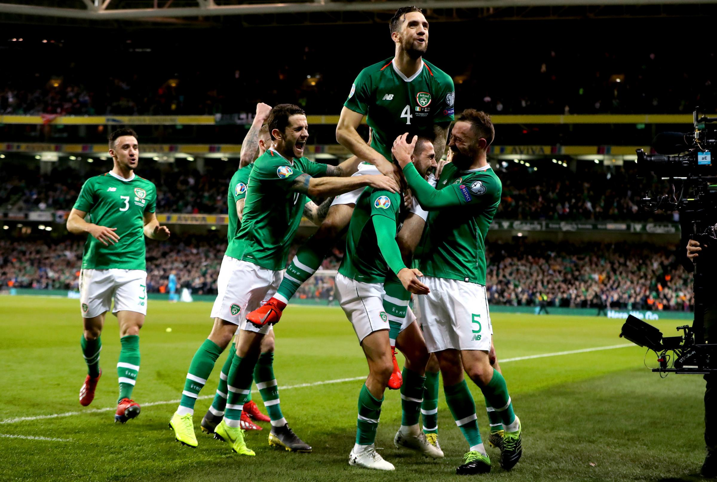 Robbie Brady, Jeff Hendrick and Kevin Long make Mick McCarthy's squad