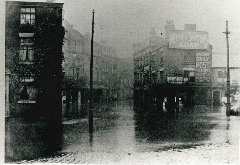Salford in Blackburn in 1901.