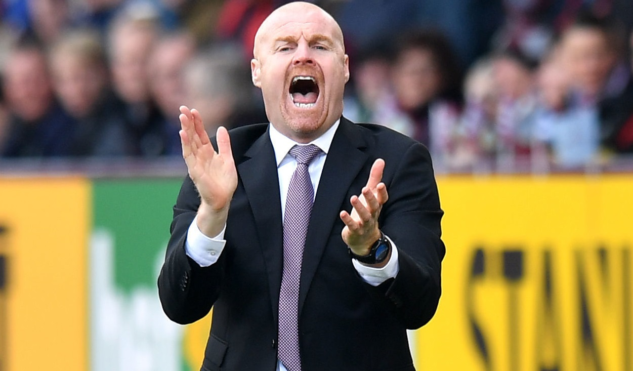 Burnley boss Sean Dyche leaves ball in Peter Crouch's court over future