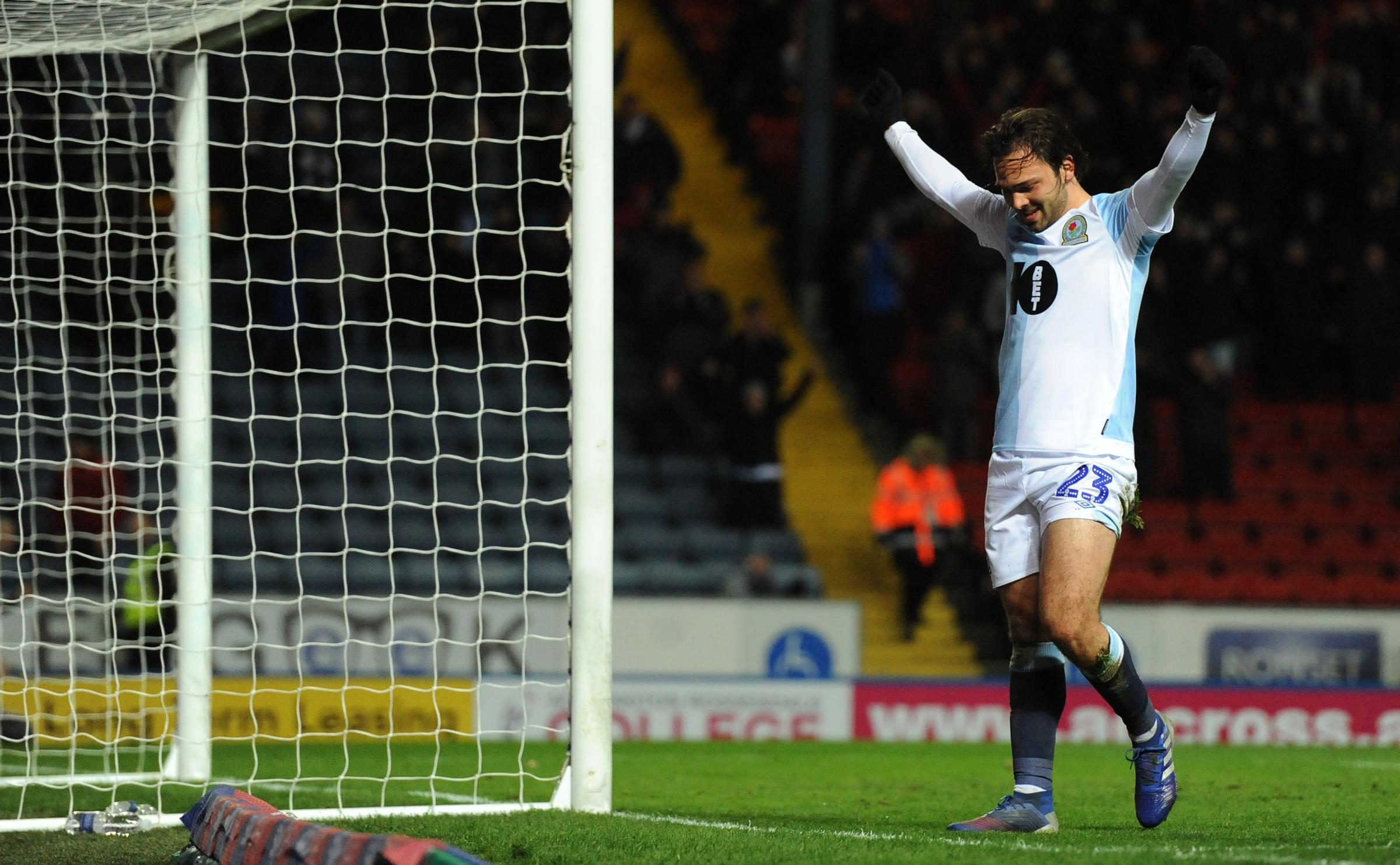 Bradley Dack once again topped Rovers' scoring charts