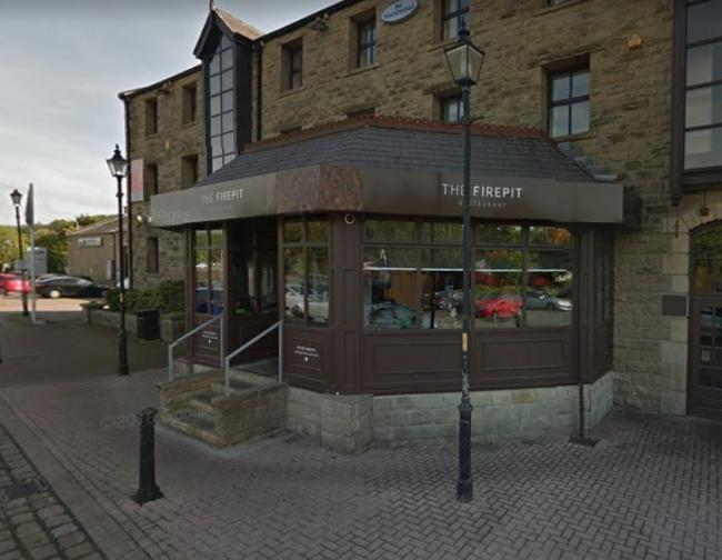 The Firepit restaurant, on New Hall Hey Road, Rawtenstall