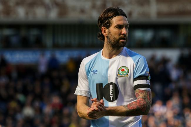 Rovers captain Charlie Mulgrew finished the season among the subs