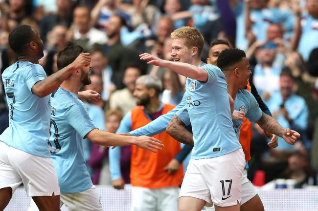 Kevin De Bruyne took great pleasure in City's FA Cup success after an injury-affected season