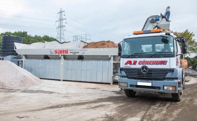 A1 Skips in Clayton-le-Moors