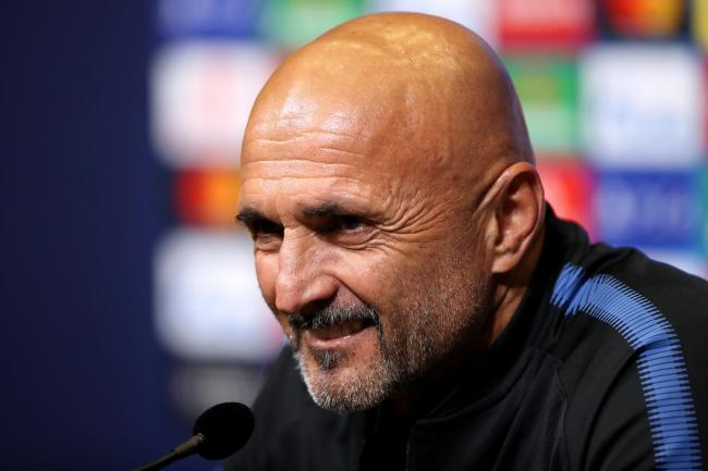 Luciano Spalletti has urged his Inter Milan side to show some belief on Sunday (John Walton/PA)