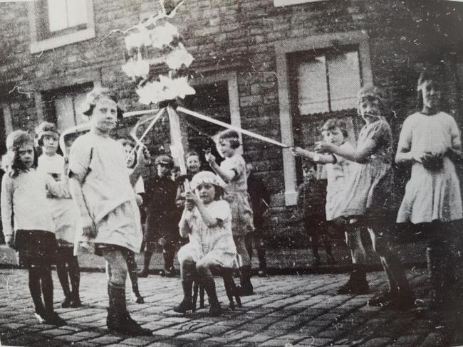 May Day in the 1930s, Great Harwood