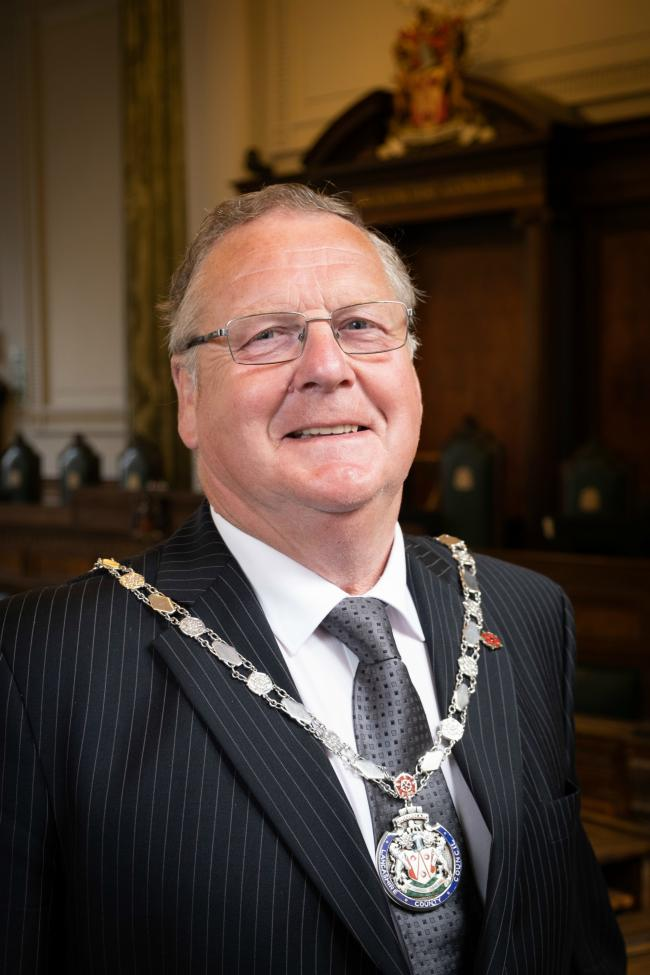 New Lancashire County Council chairman Paul Rigby