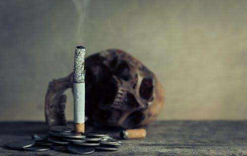 Smokers have been urged to quit their bad habit.