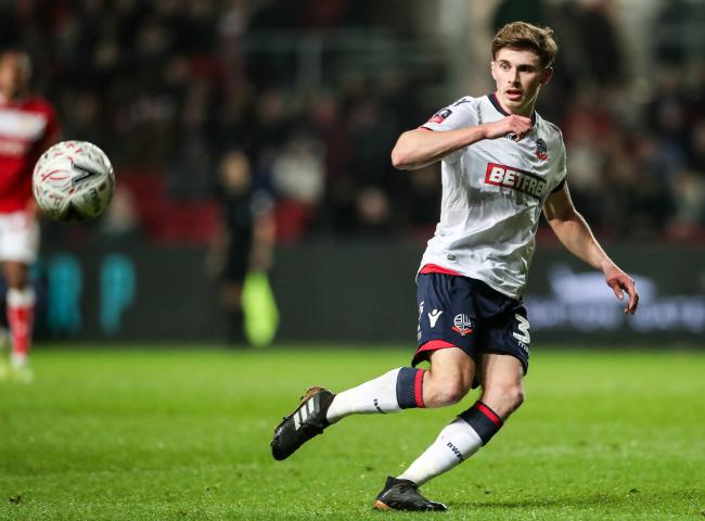 Joe Pritchard played five times for Bolton this season