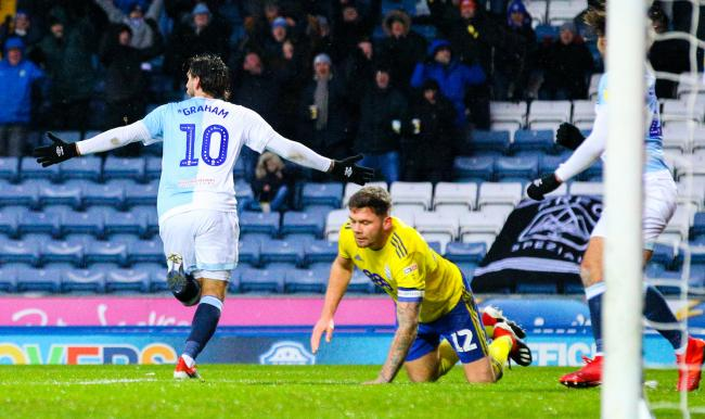 Danny Graham scored 15 goals for Rovers this season