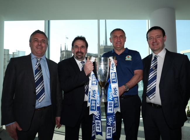 Ian Silvester, Steve Waggott, Tony Mowbray and Mike Cheston flew out to India to meet owners Venky's