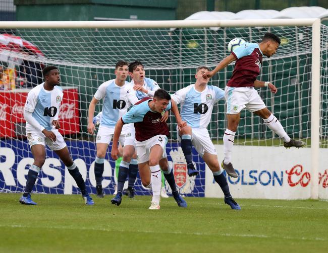 Wilson featured in Burnley's defeat to Blackburn Rovers in the LFA Senior Cup final