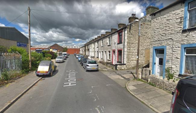 Firefighters were called to a fire at a house in Burnley