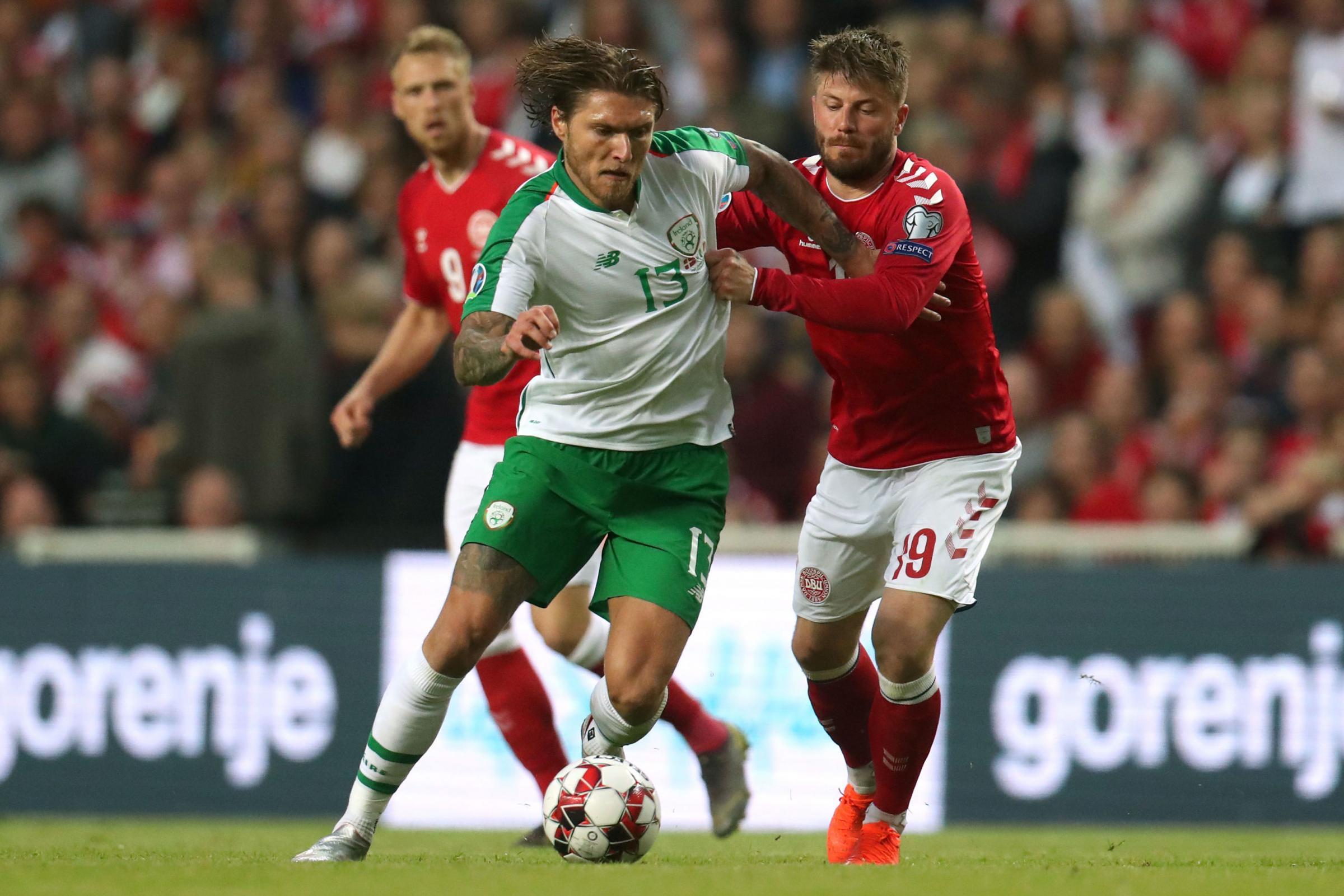Burnley's Jeff Hendrick wants Ireland to build on Denmark point against Gibraltar