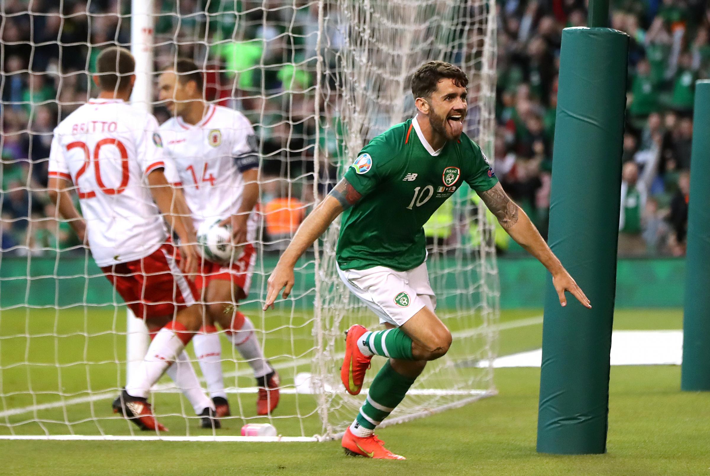 Burnley's Robbie Brady helps Republic of Ireland to Gibraltar win