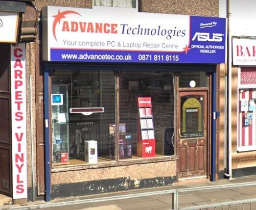 Advance Technlogies, home to Advance Tech, in Pall Mall, Chorley