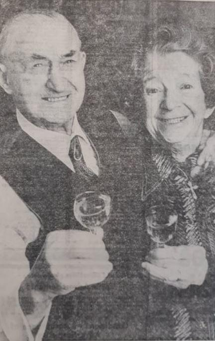 Reg and Nancy Clanford celebrated 60 years of marraige in 1979