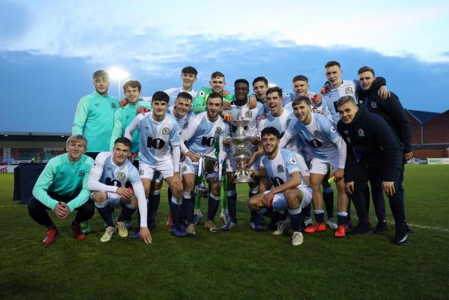 Rovers won the Lancashire Senior Cup last month