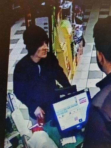 This man is wanted in connection with the unauthorised use of a bank card at Kelbrook service station, Walverden service station and the Shell garage, Manchester Road, Nelson